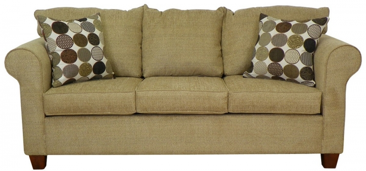 Kathy Sofa - Butler Honey - Triad Upholstery