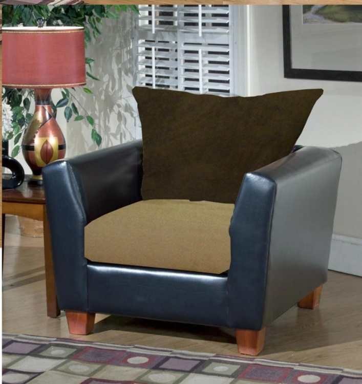 Jane Chair - Bulldozer - Mocha - Triad Upholstery