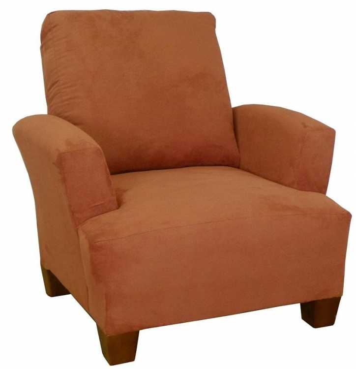 Heather Chair - Bulldozer Persimmon - Triad Upholstery