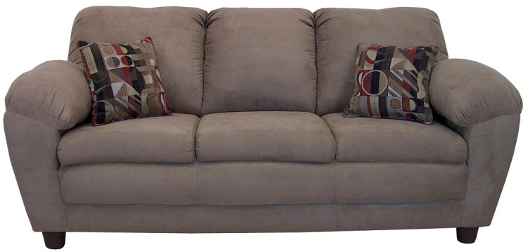 Julia Sofa Set - Bulldozer Mocha - Triad Upholstery