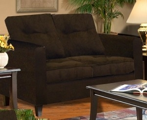 Heather Loveseat - Bulldozer - Java - Triad Upholstery