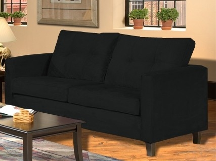 Heather Sofa - Bulldozer Black - Triad Upholstery