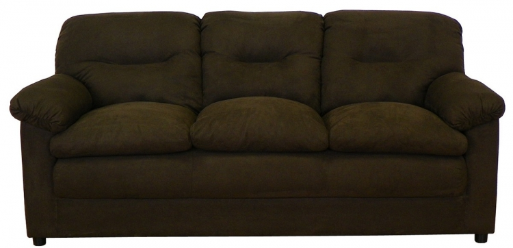 Lisa Sofa Set - Bulldozer Java - Triad Upholstery