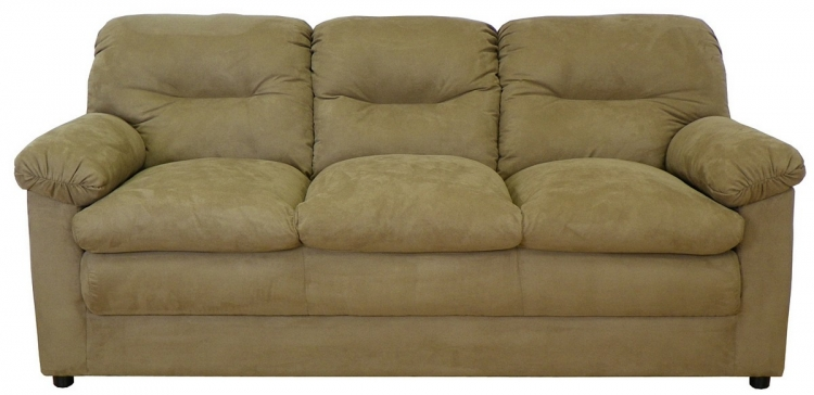 Lisa Sofa Set - Bulldozer Mocha - Triad Upholstery