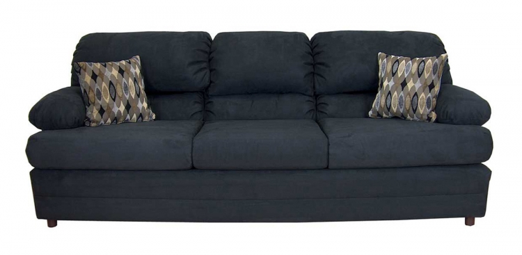 Clara Sofa Set - Bulldozer Black - Triad Upholstery