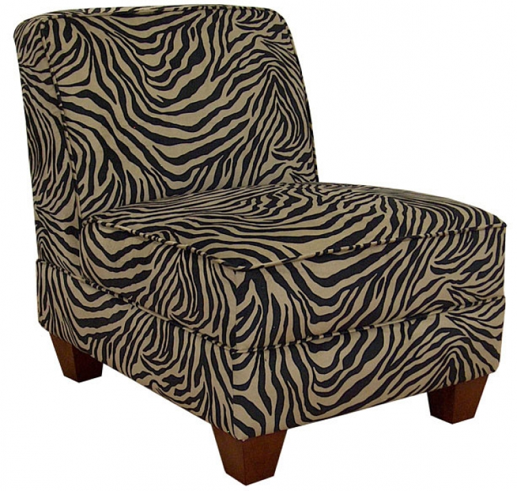 Sally Armless Chair - Zambia Coffee - Triad Upholstery
