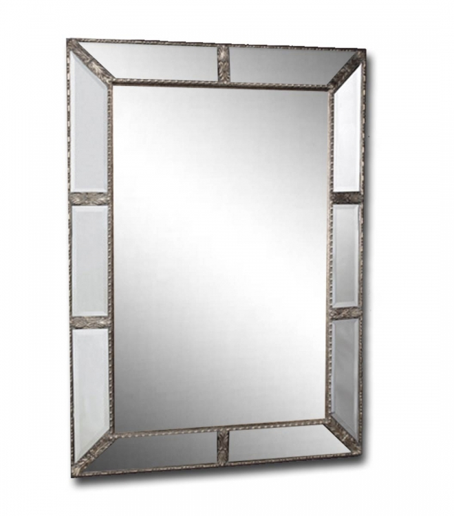 Marbella Mirrored Floor Mirror - Ultimate Accents