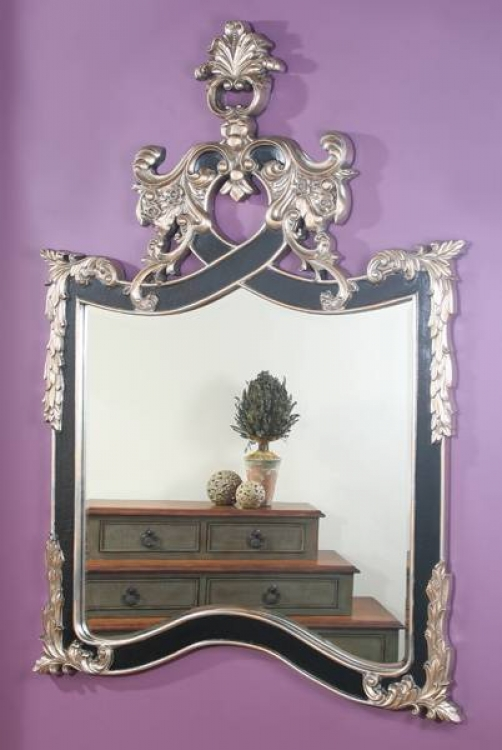Marbella Arendal Black and Silve Mirror - Ultimate Accents