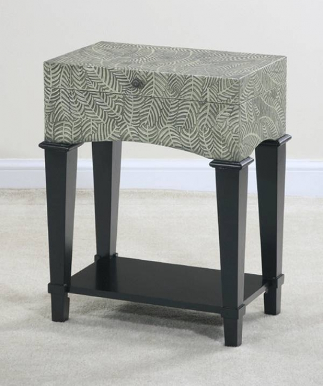 Myriad Foliage Truck End Table - Ultimate Accents