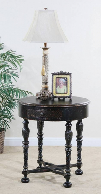 Astoria 30in Round End Table - Ultimate Accents
