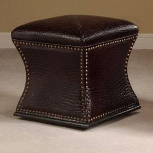 Black Storage Stool - Ultimate Accents
