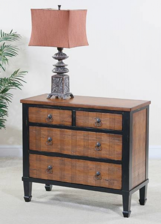 Wexford 4 Drawer Plaid Chest - Ultimate Accents