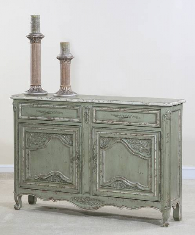 Mayfield Country French Green Console - Ultimate Accents
