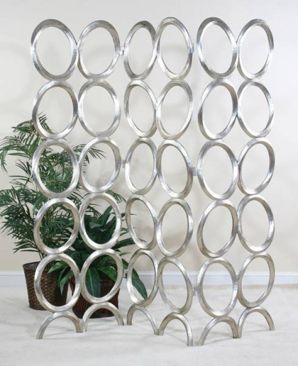 Contempo Silver Oval Screen - Ultimate Accents