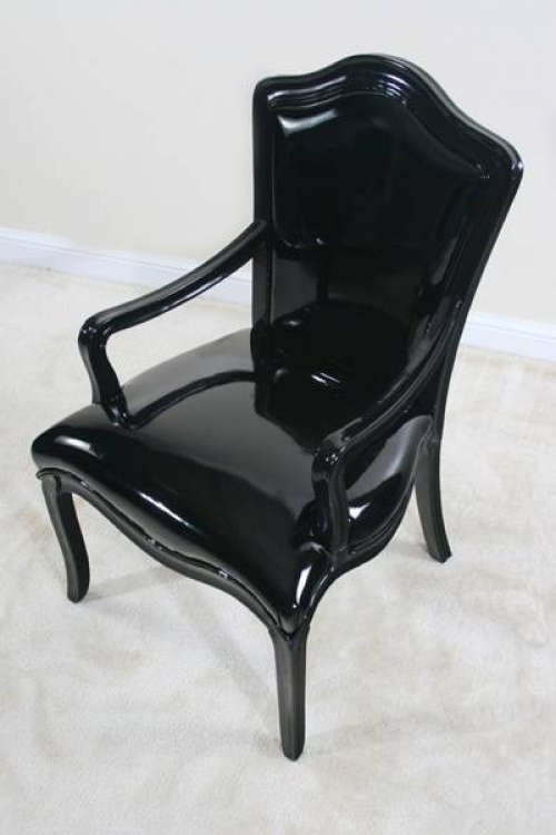 Diablo Black Chair - Ultimate Accents