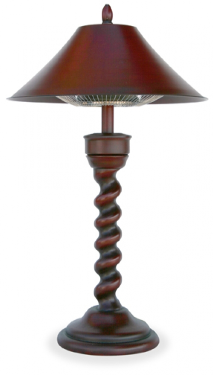 New Orleans Electric Heater Floor Lamp - Uniflame
