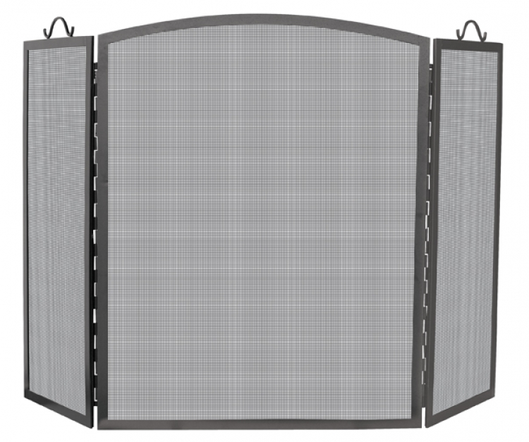 Large 3 Panel Arch Top Screen - Uniflame