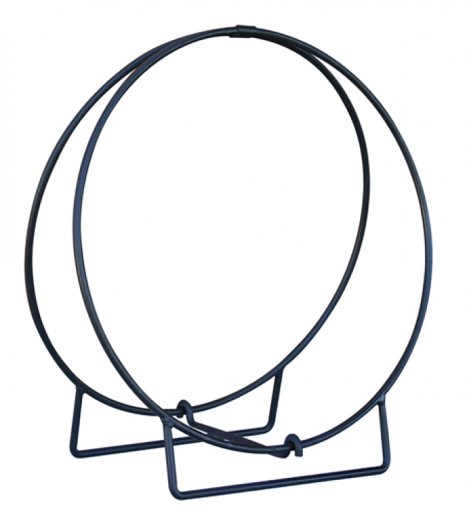 24 Inch Black Log Hoop - Uniflame