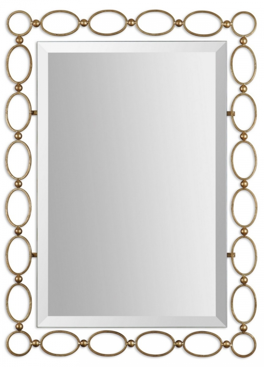 Lauria Gold Mirror