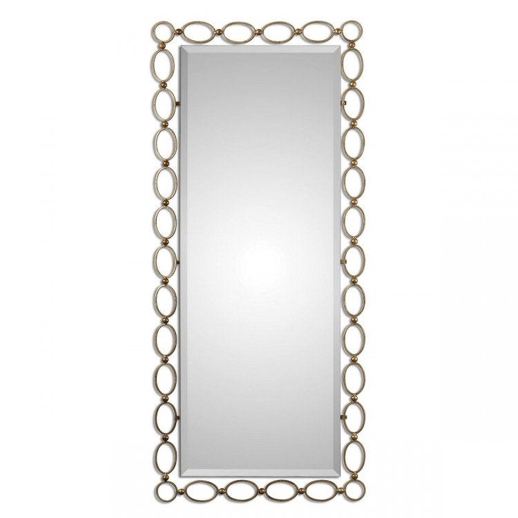 Lauria Tall Gold Mirror