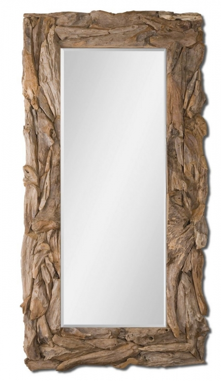 Natural Teak Root Mirror