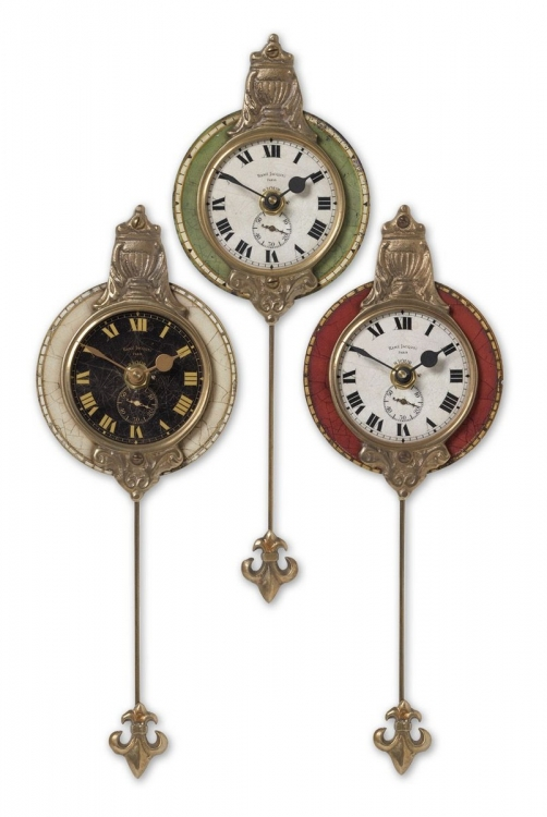 Monarch Wall Clock - Set of 3