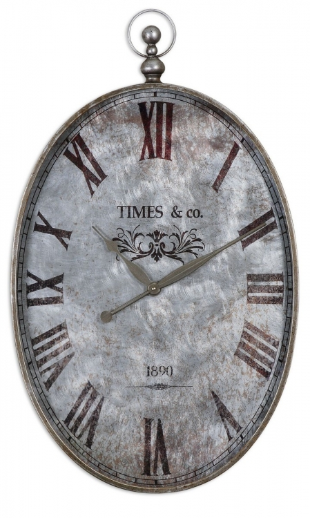 Argento Antique Wall Clock