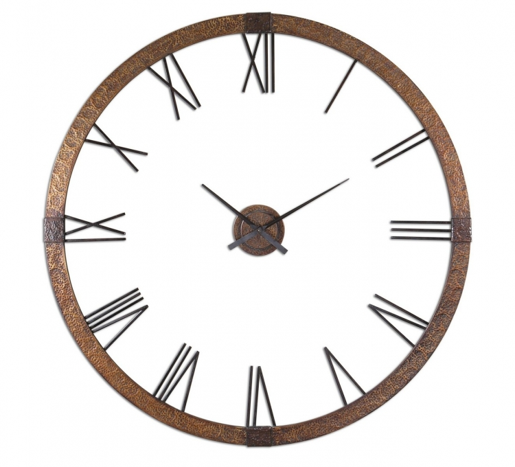 Amarion 60 Copper Wall Clock