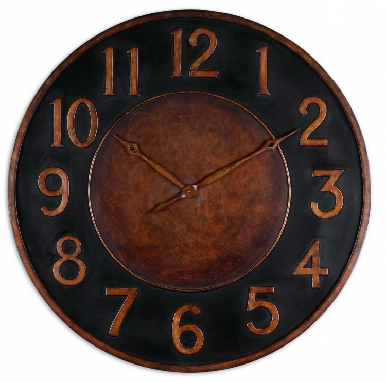 Matera 36 Metal Wall Clock