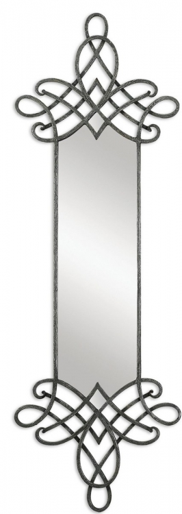Celestia Forged Metal Mirror