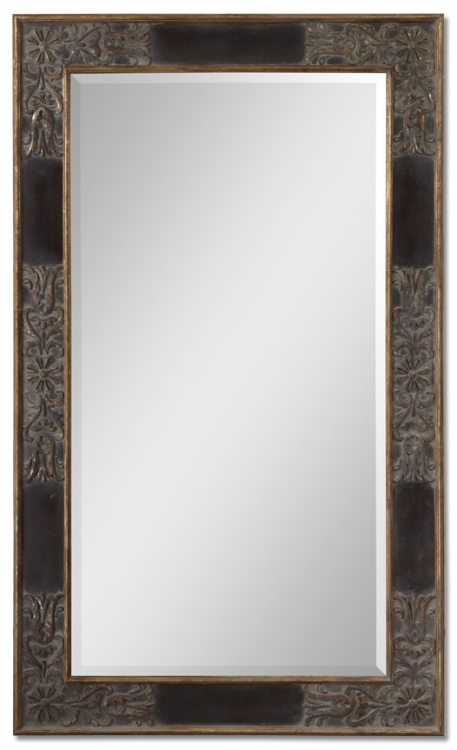 Serafina Large Gold Mirror
