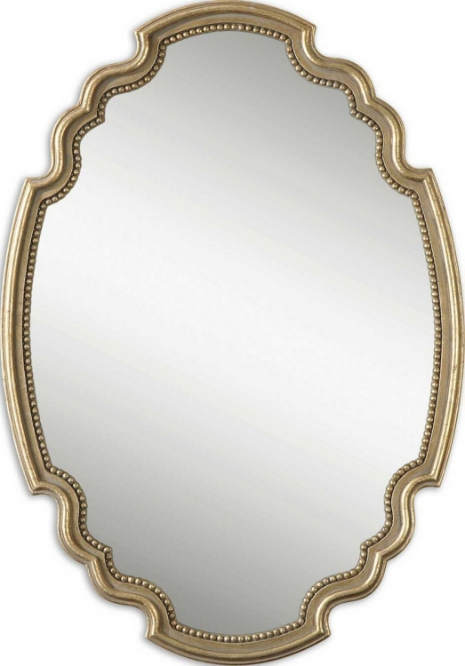 Terelle Oval Gold Mirror