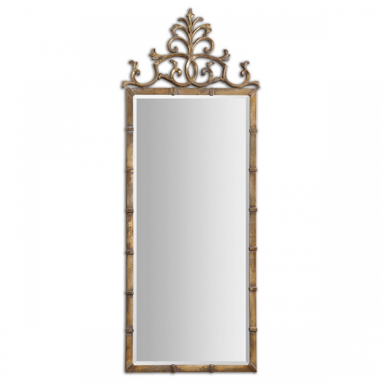 Vittoria Gold Metal Mirror