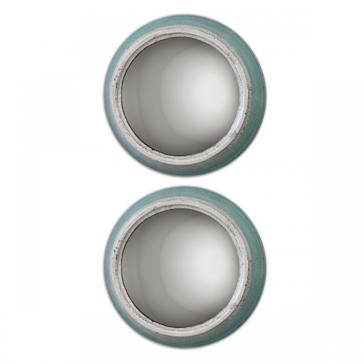 Fanchon Round Mirrors - Set of 2