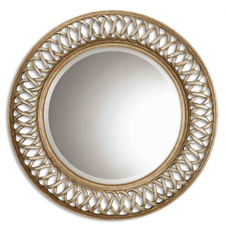 Entwined Antique Gold Mirror