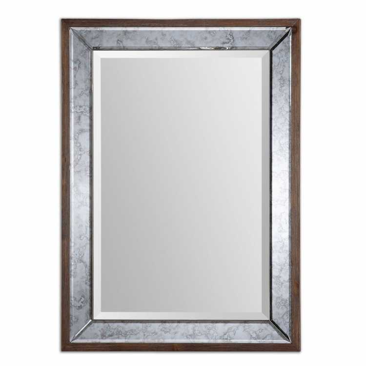 Daria Antique Framed Mirror