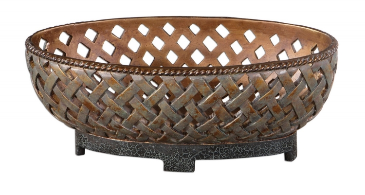 Teneh Lattice Weave Design Bowl