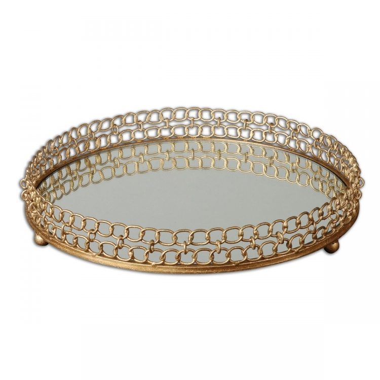 Dipali Mirrored Tray