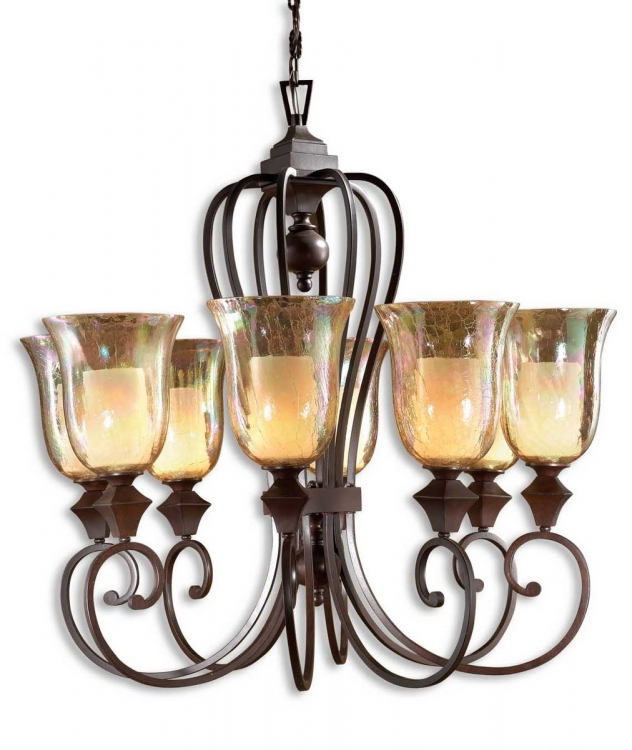 Elba 8 Light Candle Chandelier