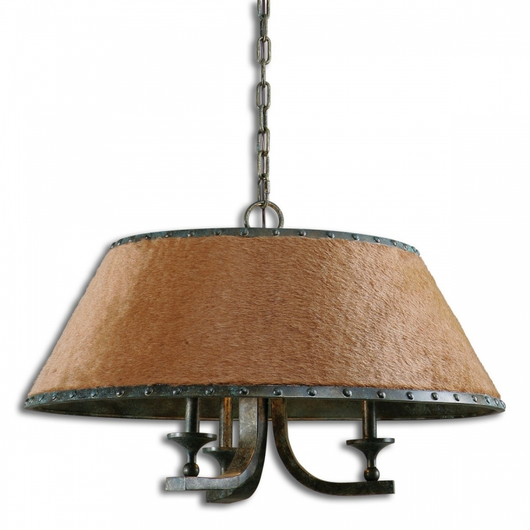 Tundra 3 Light Rustic Chandelier