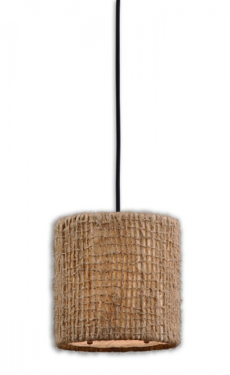 Burleson 1 Light Mini Drum Pendant