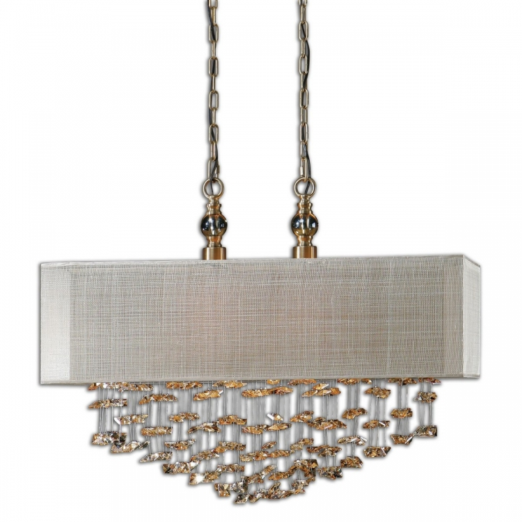 Santina 2 Light Shade Pendant