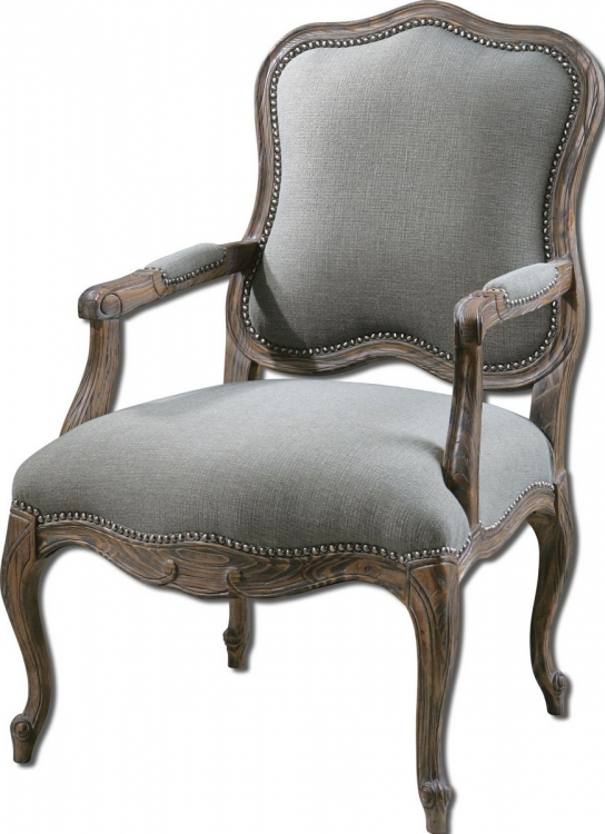 Willa Steel Gray Armchair