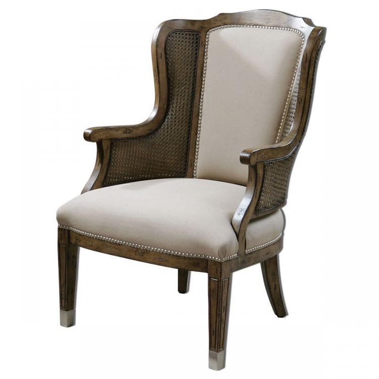 Nessa High Back Wing Chair