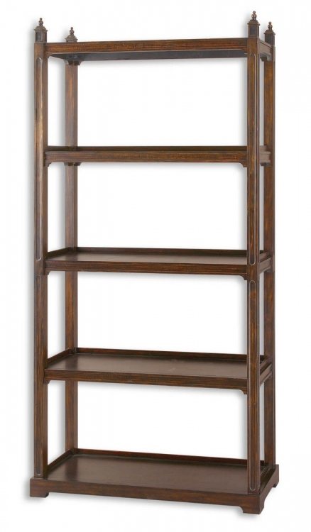 Brearly Wood Etagere