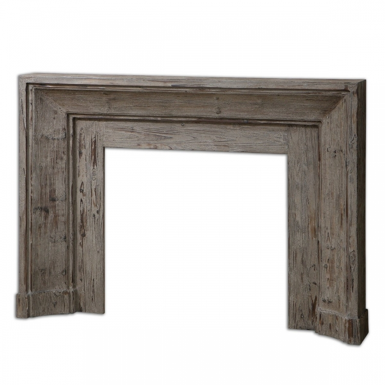 Khuri Wooden Mantel