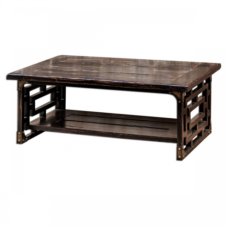Deron Wooden Coffee Table