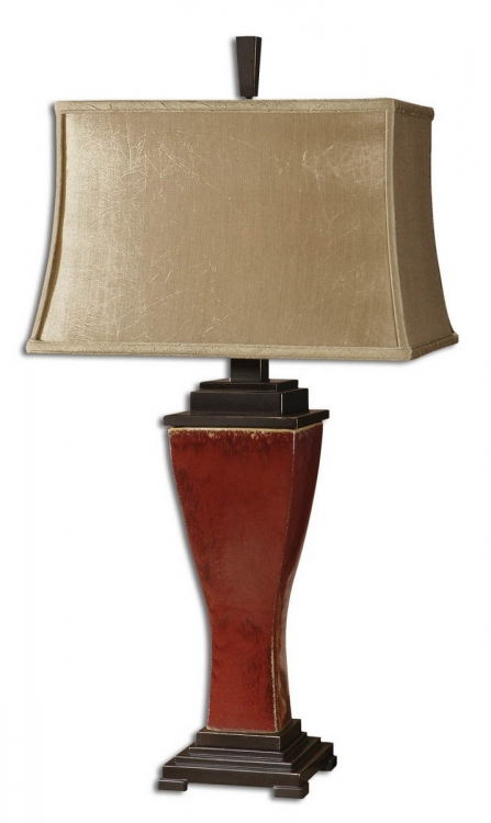 Abiona Red Table Lamp