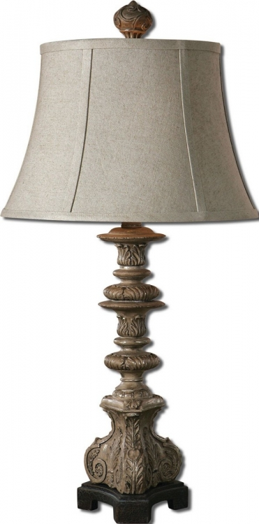 Nerio Gray Table Lamp