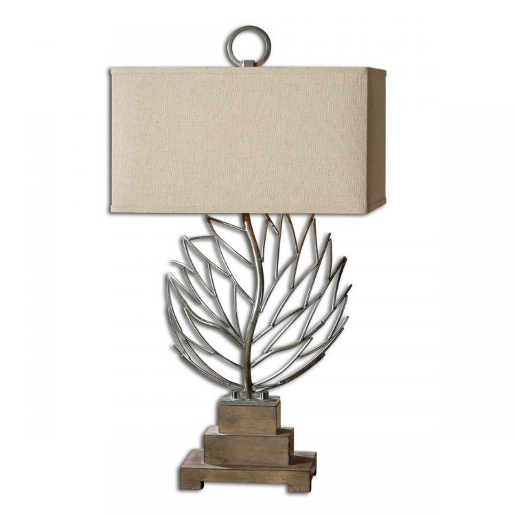 Argento Metal Branches Table Lamp
